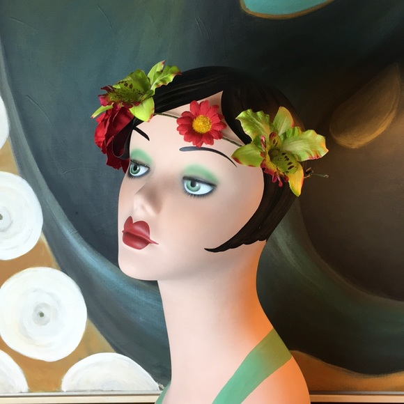 3/$25 SALE! Flower Headband Hat Band